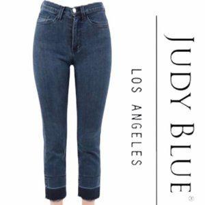 Judy Blue Released Hem Super High Waist Jeans